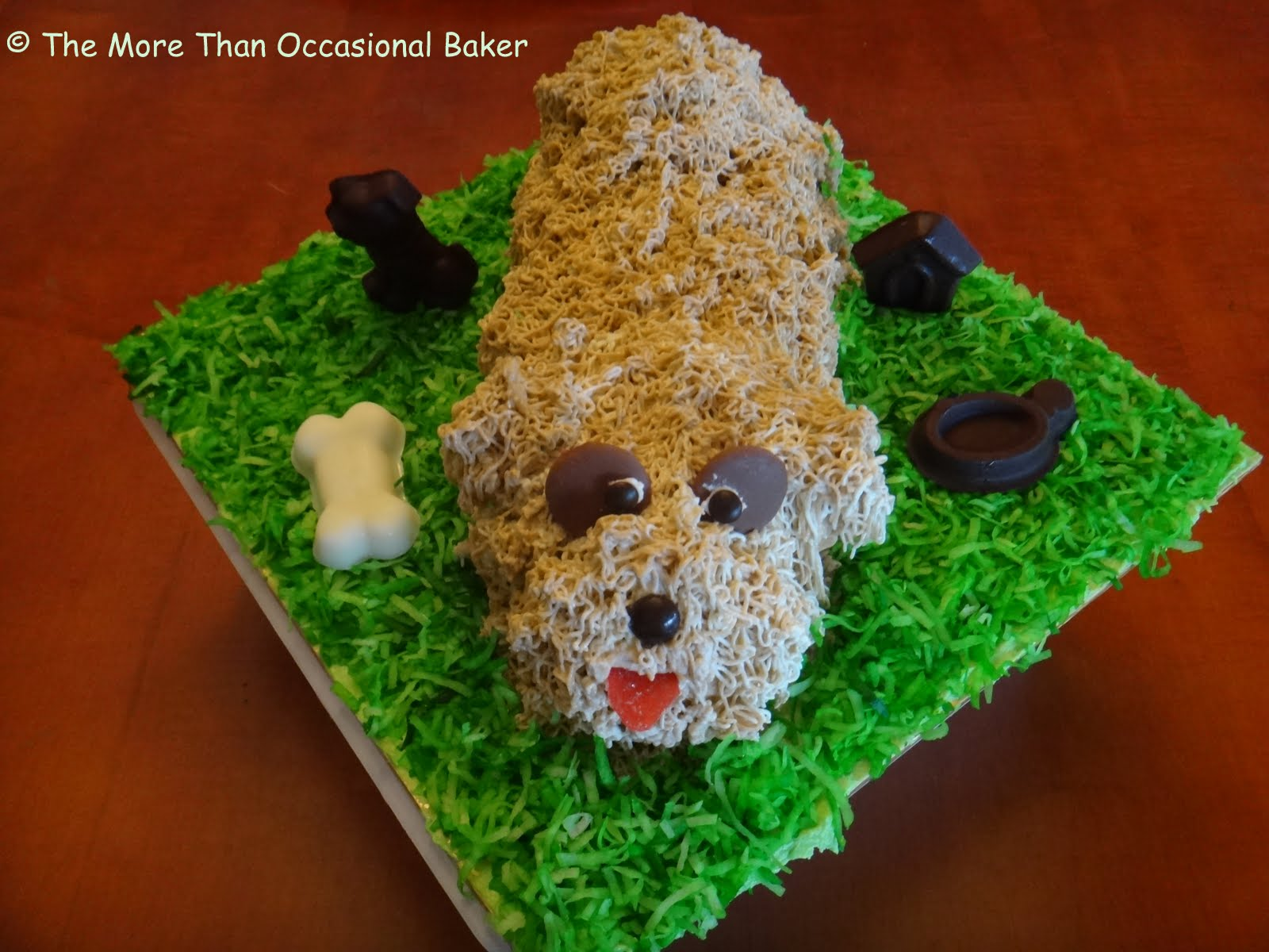 The More Than Occasional Baker Dog Birthday Cake
