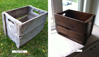 before and after crate