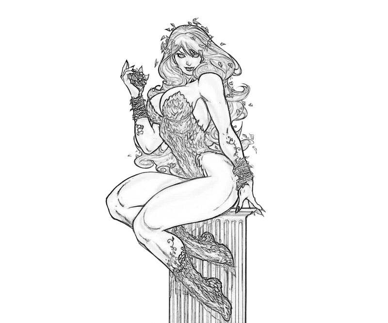 Batman Arkham City Poison Ivy Fear Surfing