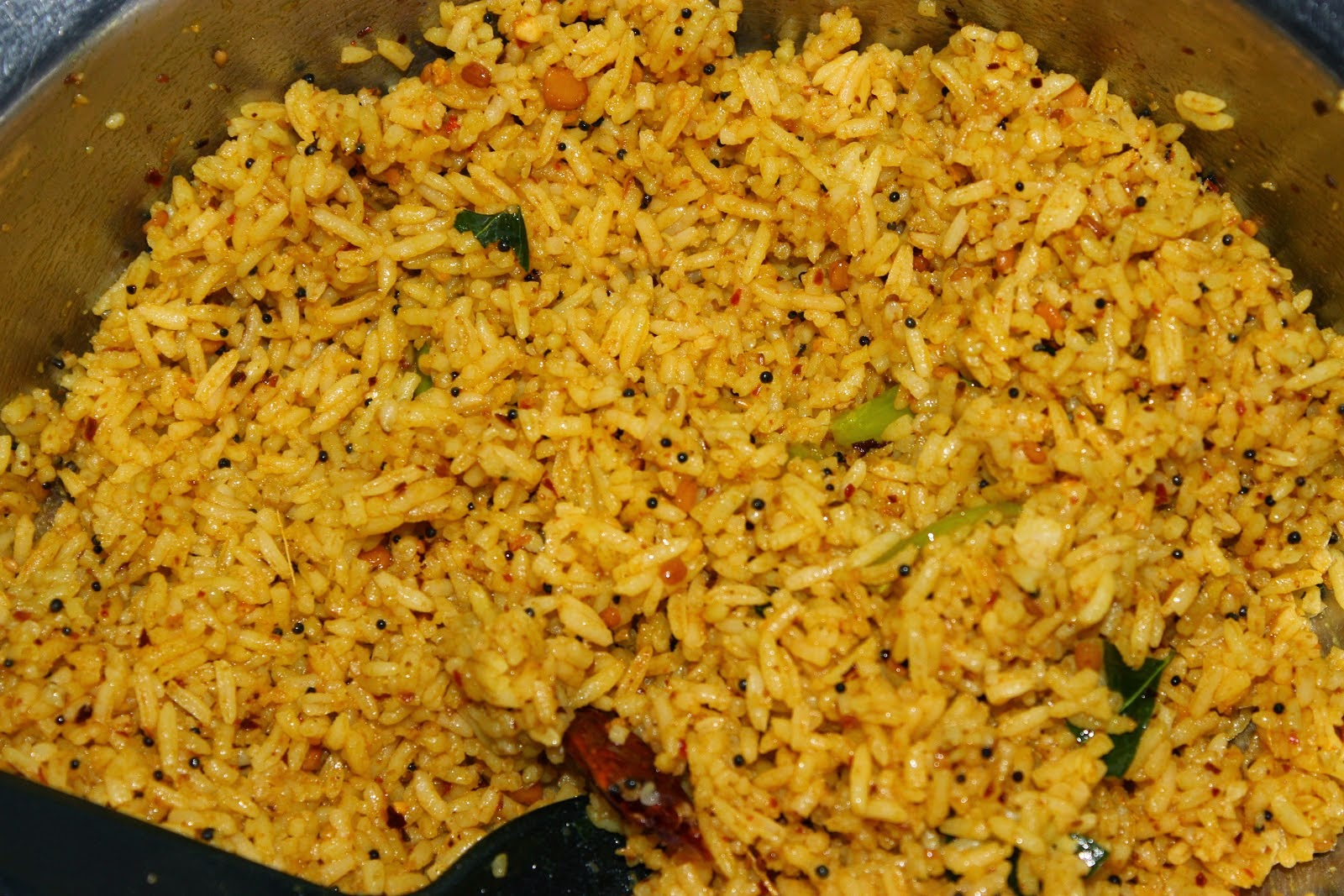 This tamarind rice and the lemon rice are another very innovative and ...
