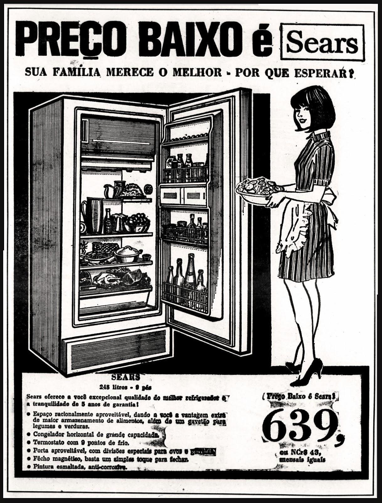 História dos anos 70; Propaganda na década de 70; Brazil in the 70s.