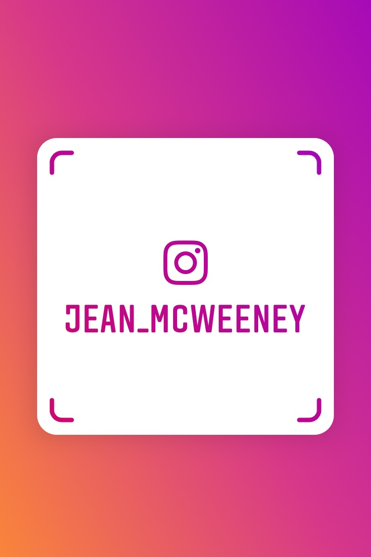Scan this Nametag to follow me on Instagram