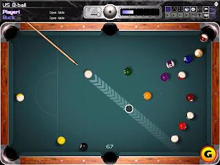 لعبة بلياردو -  Gamezer Billiards