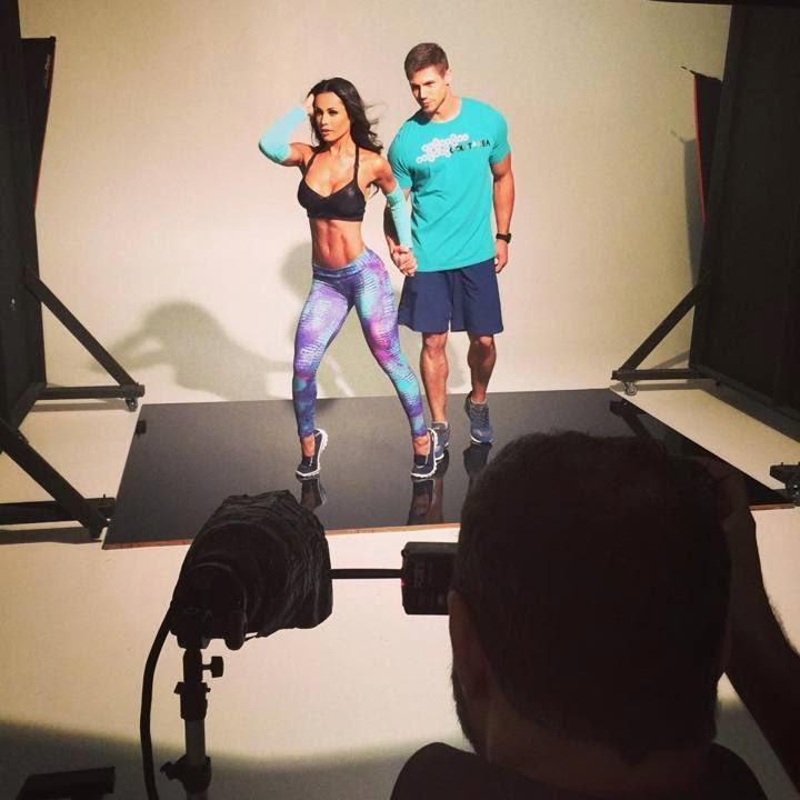 Fernanda D'Avilla e Jonas Sulzbach posam em estúdio - Foto: Divulgação