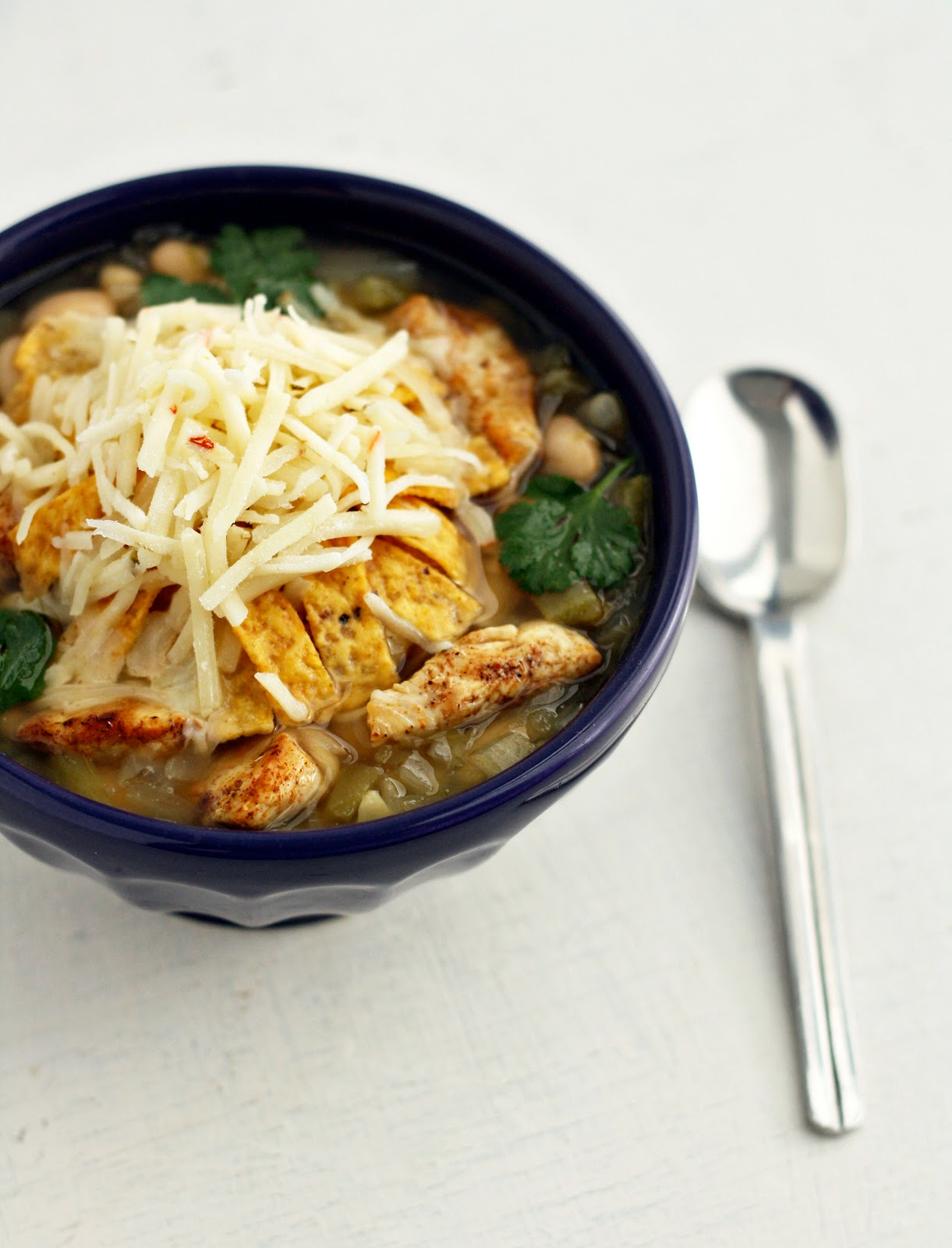 dinner or dessert: white bean chicken chili