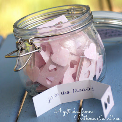 Crafty Valentines Gifts - Date Night Jar
