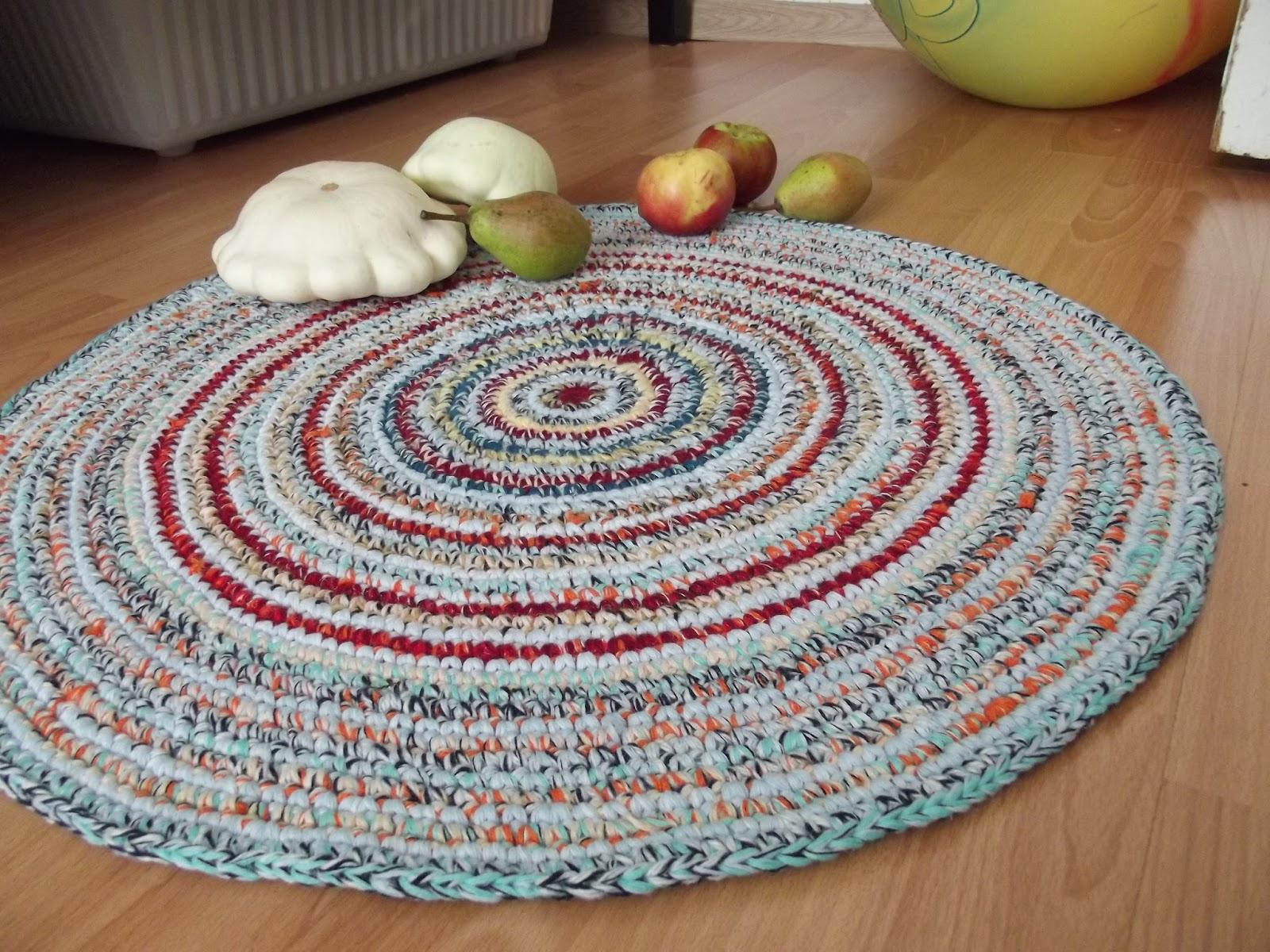 Как вязать ковры своими руками