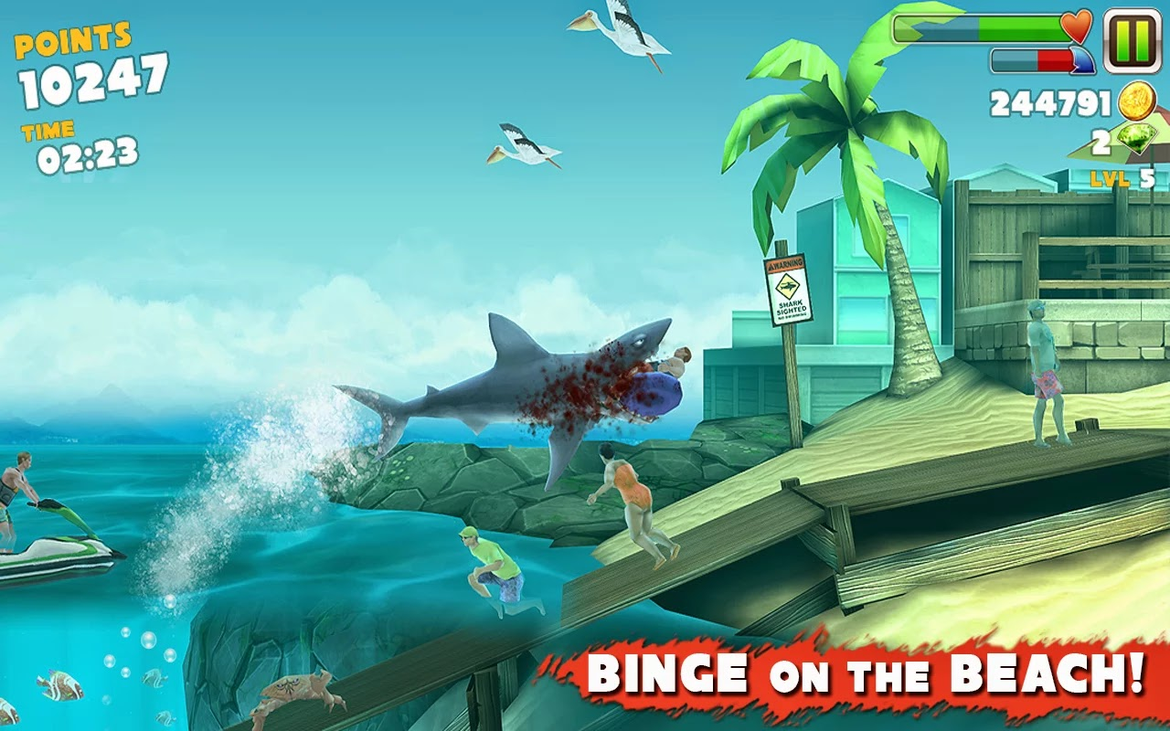 Hungry Shark Evolution v2.6.0 Mod [Unlimited Money & Diamonds]
