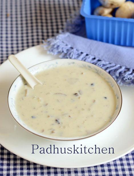Mushroom Soup Recipe-Cream of Mushroom Soup-Easy Soup Recipes ...
