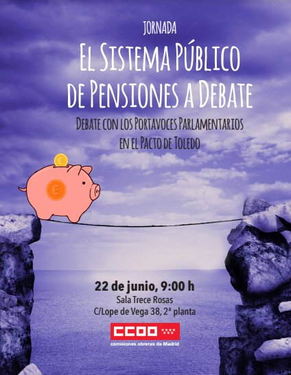 22 de junio Debate Las pensiones