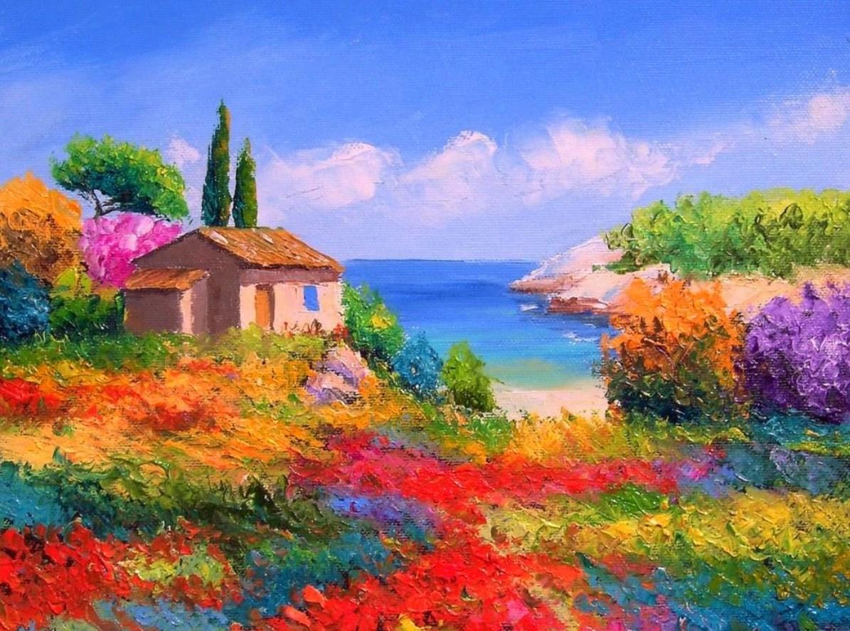 Pintura moderna y fotograf a art stica cuadros de flores - Oleos decorativos ...