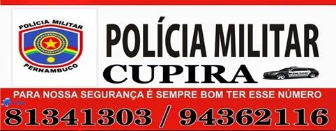 NÚMEROS DA PM DE CUPIRA