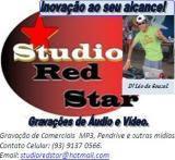 Studio Red Star - Gravação de Comerciais, Músicas em MP3 e outras mídias.