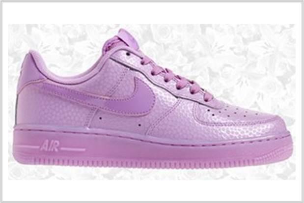 Sydney Fashion Hunter - Perfectly Purple - Nike Air Force 1