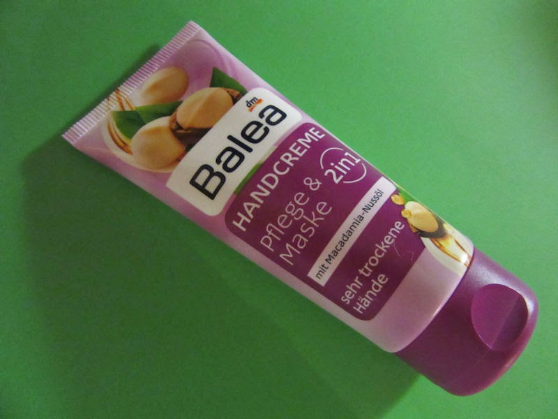 Balea: krém na ruky s makadamiovým olejom