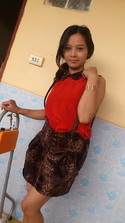 Srey Rath Kim Cute Wife On Facebook Sexy Red Dress Photo 3