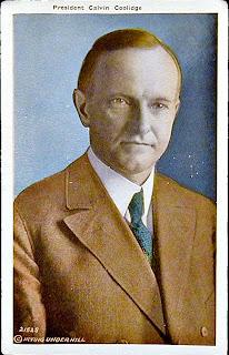 Calvin Coolidge Postcard