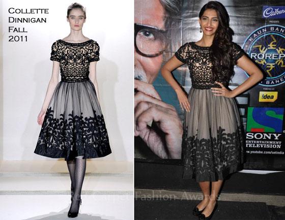 """Sonam Kapoor In Collette Dinnigan – """"Mausam"""" Promotion ..."""