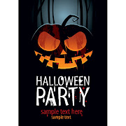 33. Free vector of Halloween party template