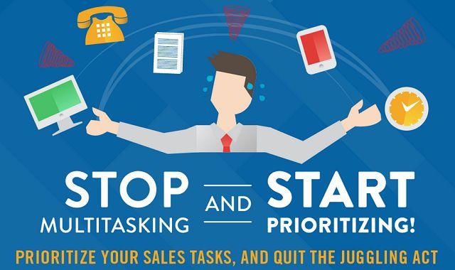 Image: Stop Multitasking and Start Prioritizing
