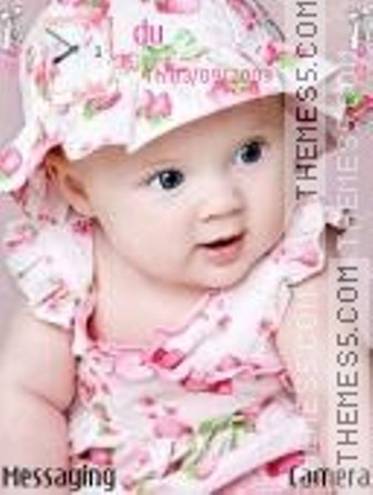 Cute Baby Themes For Mobile Phones Wallpapers Photos Picture Gallery