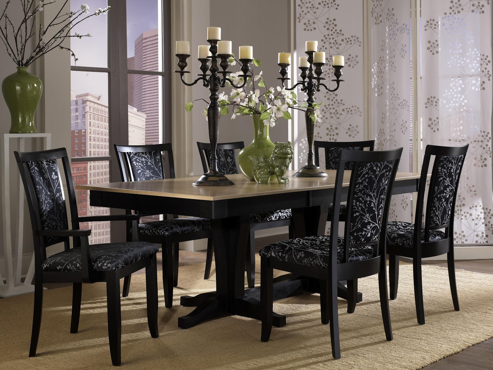 Contemporary Dining Set Of Canadel Dining Room Sets New York Dining Room Unique