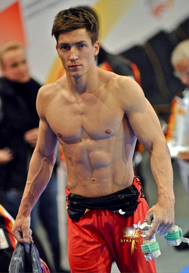 Hunks in Pictures: German Olympic Gymnast Philipp Boy