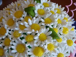 Bolo ramo de flores