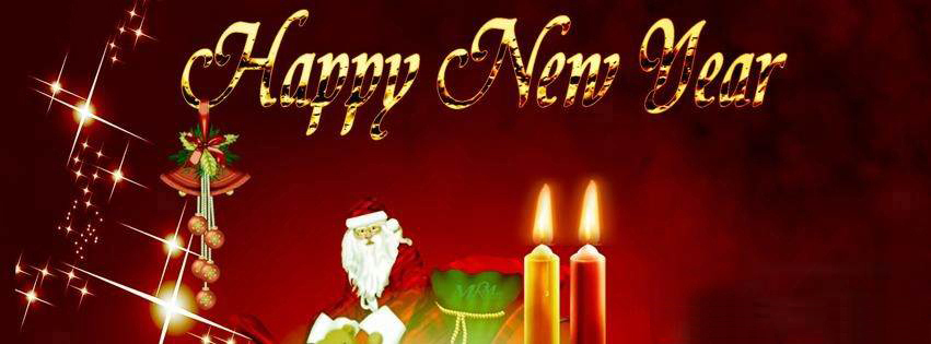 Santa Claus And Happy New Year