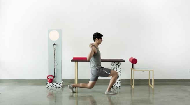 Marzua no sweat muebles para hacer ejercicio en la - Mobiliario de gimnasio ...
