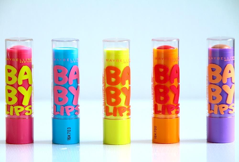 gemey baby lips baumes à lèvres colorés avis test swatch