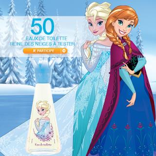 50 Parfum Reine des Neiges Disney de Corine de Farme à gagner !