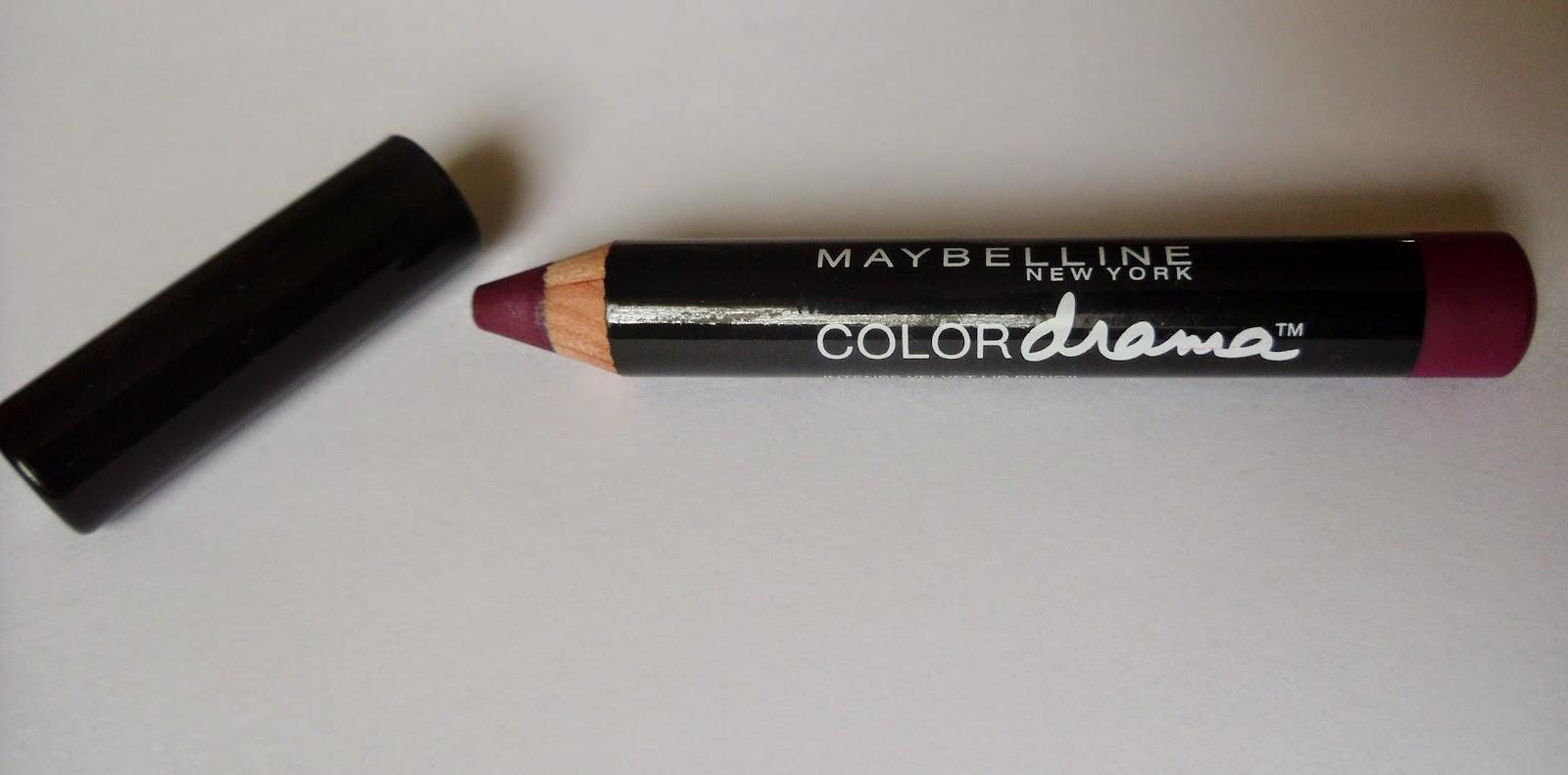 Maybelline Colour Drama Intense Velvet Lip Pencil Review