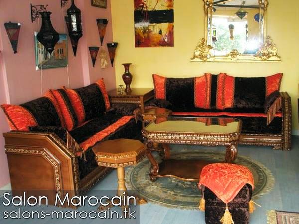 Salon marocain impeccable 2014