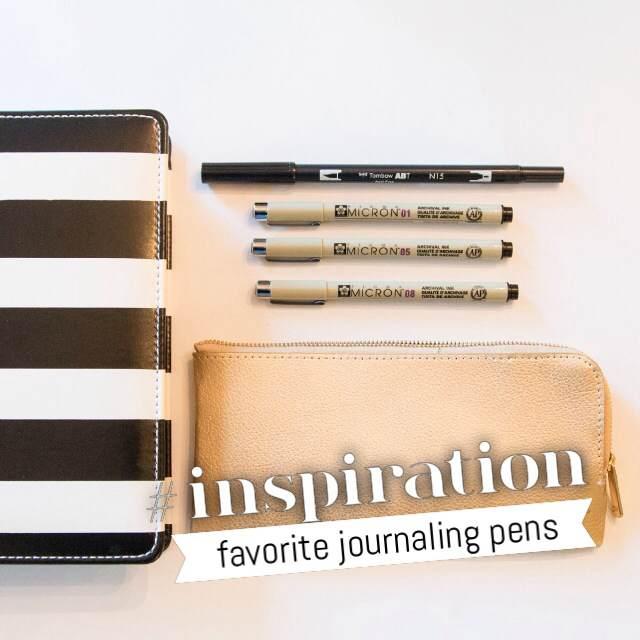 Memory Planner Journal Pens @heidiswapp @createoften #heidiswapp #hsMemoryPlanner #journal #pens #planner