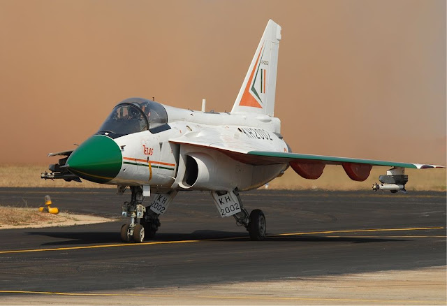 HAL Tejas colored