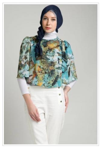 Model%2BBaju%2BMuslim%2BCasual%2BTerbaru 10 contoh model baju muslim casual untuk wanita modis terbaru 2015,Model Busana Muslim Casual