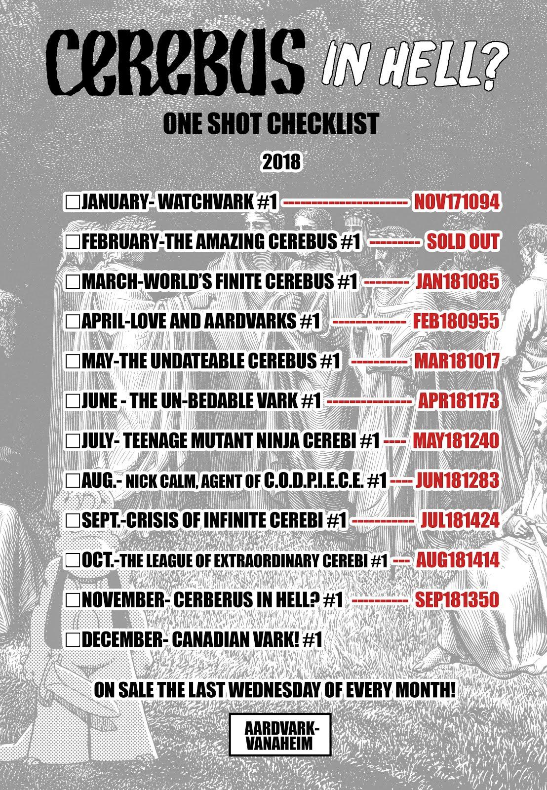 CIH? 2018 Checklist