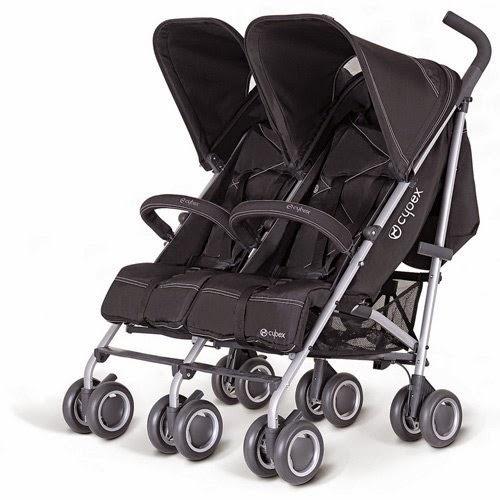gambar stroller kembar