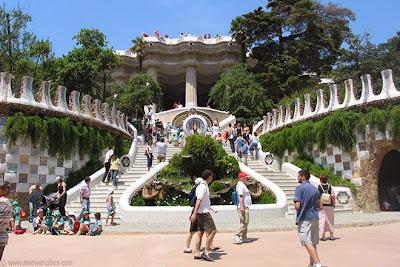 Parc Güell Staircase