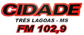 Rádio Cidade FM de Três Lagoas MS ao vivo