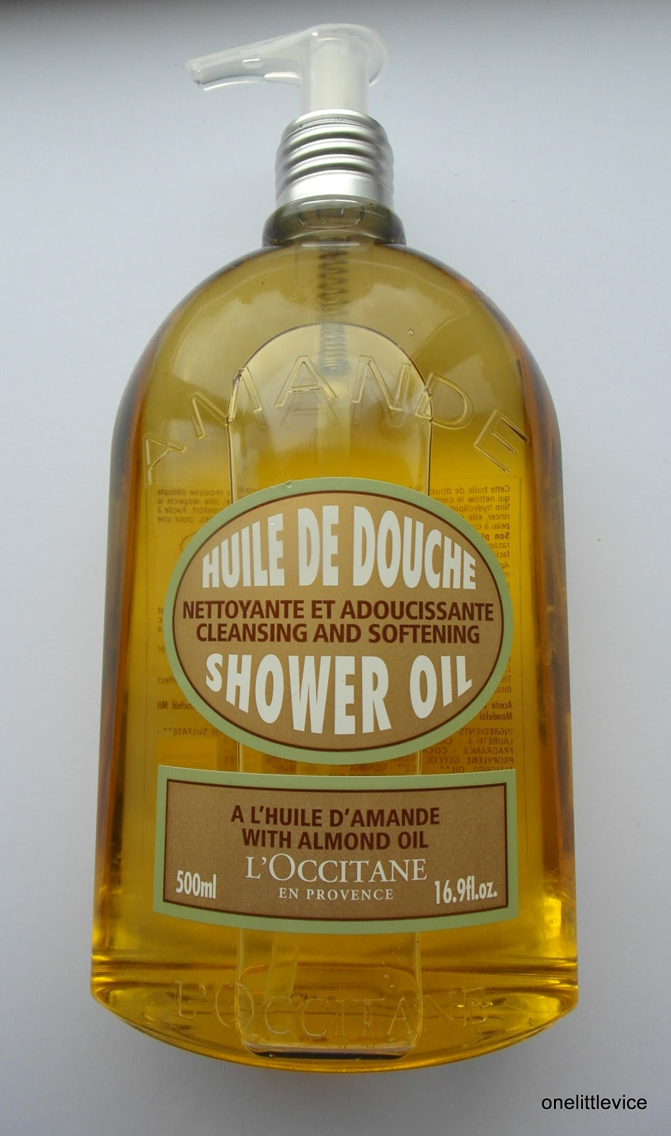 Review L Occitane Almond Shower Oil One Little Vice