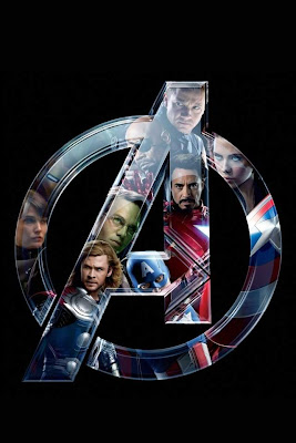the avengers logo for iphone smart phone