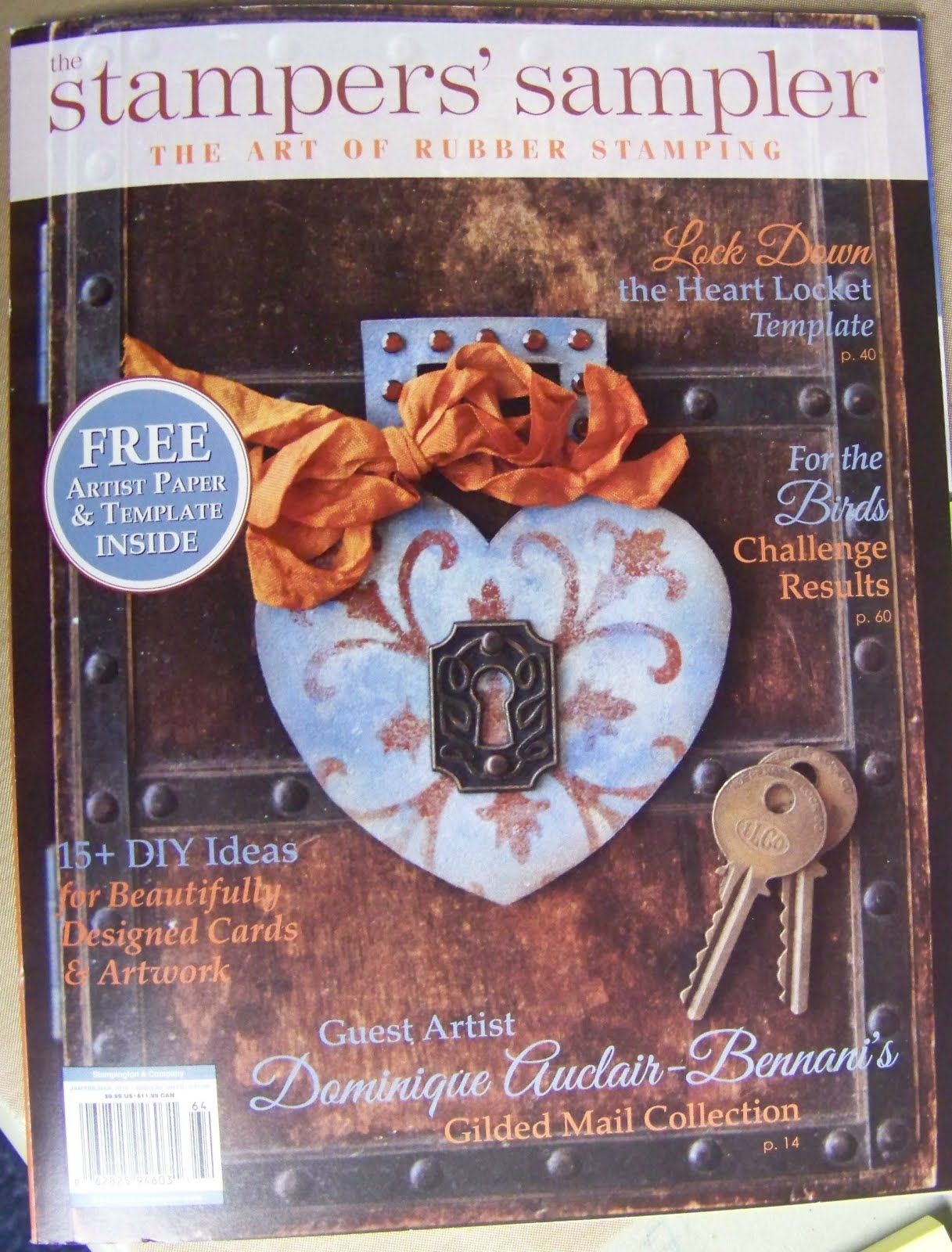Stampers' Sampler Jan Feb Mar 2016