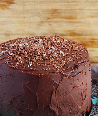 Dutchful Thinking zoet-zoute chocoladecake
