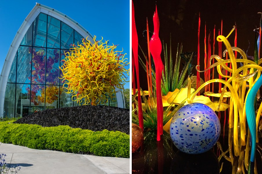 A Prima Vista Chihuly Garden Of Glass Seattle