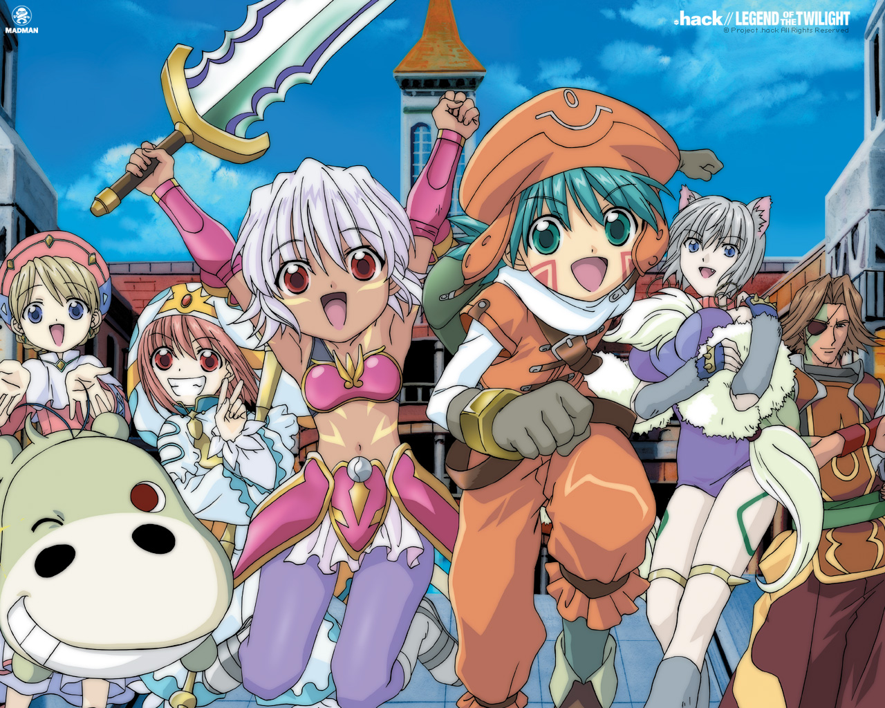 Hack Legend of The Twilight Anime Legends Complete Collection Movie HD free download 720p