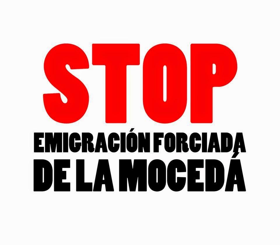 Stop emigración forciada