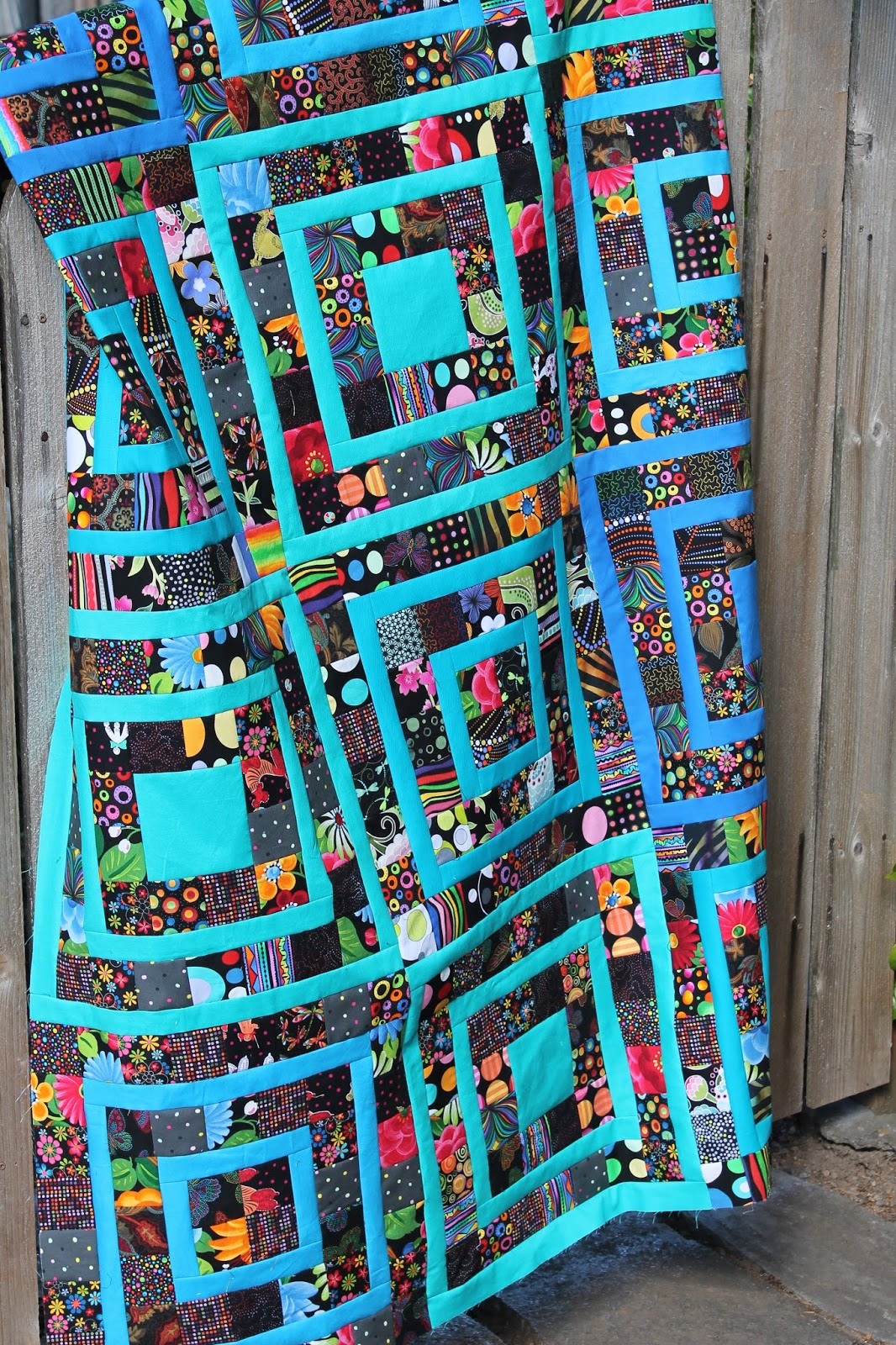 Quilting is more fun than housework making progress on for Scrap quilt