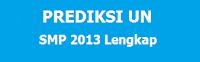 Soal UN SMP Tahun 2013